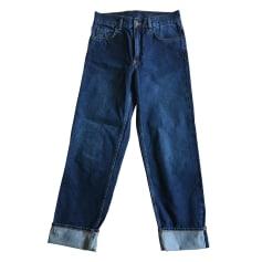 Jeans droit COS Bleu, bleu marine, bleu turquoise