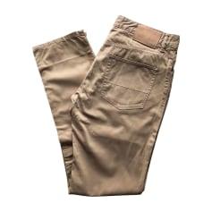 Slim Fit Pants RALPH LAUREN Beige, camel