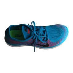 Sneakers NIKE Free Blue, navy, turquoise