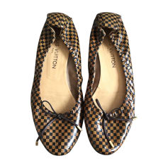 Ballet Flats LOUIS VUITTON Brown