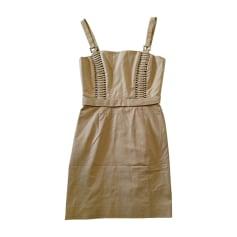 Midi-Kleid VERSACE Beige