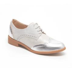 Chaussures à lacets  LILY SHOES Argenté, acier