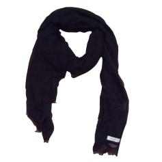Silk Scarf SANDRO Black