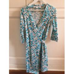 Robes longues Femme Coton Bleu, bleu marine, bleu turquoise