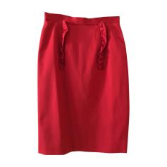 Midi Skirt MIU MIU Red, burgundy