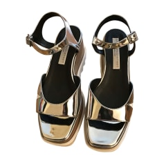Heeled Sandals STELLA MCCARTNEY Silver