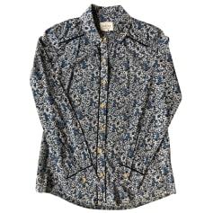 Camicia SÉZANE Blu, blu navy, turchese