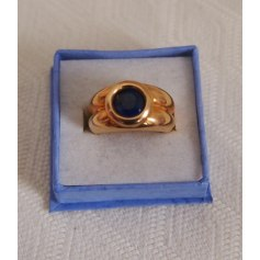 Ring GL PARIS Blau, marineblau, türkisblau