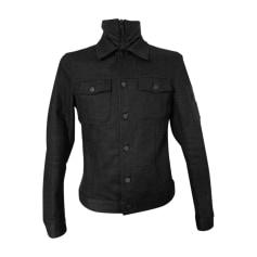 Giubbotto di jeans PRADA Grigio, antracite