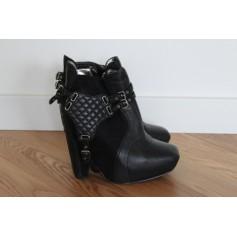 Bottines & low boots à compensés SAM EDELMAN Noir