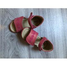 Chaussures à scratch ASTER Rose, fuschia, vieux rose
