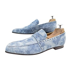 Loafers BERLUTI Blue, navy, turquoise