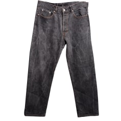 Jeans dritto STONE ISLAND Grigio, antracite