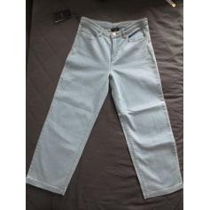 Jeans large, boyfriend ARMANI JEANS Bleu, bleu marine, bleu turquoise