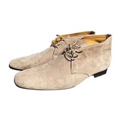 Ankle Boots HERMÈS Beige, camel