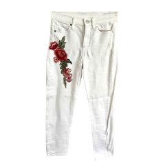 Skinny Jeans MAJE White, off-white, ecru