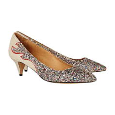 Pumps ISABEL MARANT Gold, Bronze, Kupfer