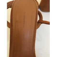 Sandales à talons ANONYMOUS COPENHAGEN Beige, camel