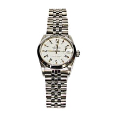Armbanduhr ROLEX DATEJUST Silberfarben, stahlfarben