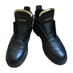 Biker Boots BALMAIN Black