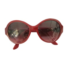 Sunglasses CARTIER Red, burgundy