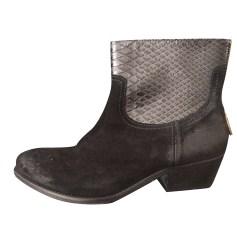 Santiags, bottines, low boots cowboy ZADIG & VOLTAIRE Noir