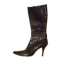 High Heel Boots FENDI Brown