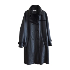 Waterproof, Trench BALMAIN Black