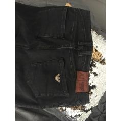 Jeans slim ARMANI JEANS Gris foncé noir