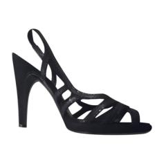 Heeled Sandals SALVATORE FERRAGAMO Black