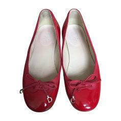 Ballet Flats DIOR Red, burgundy