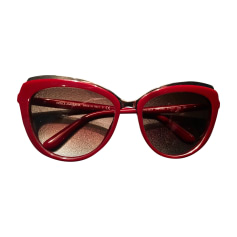 Sunglasses DOLCE & GABBANA Red, burgundy