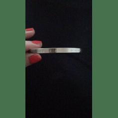 Bracelet BAUME & MERCIER Argenté, acier