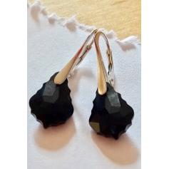 Boucles d'oreille SWAROVSKI Noir