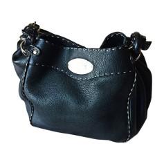 Leather Handbag FENDI Black