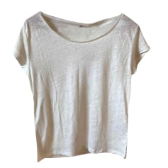 Top, tee-shirt ACNE Blanc, blanc cassé, écru