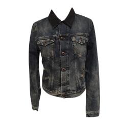 Denim Jacket DIESEL Blue, navy, turquoise