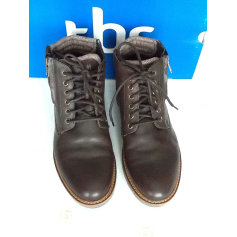 Lace Up Shoes TBS Brown