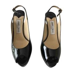 Sandales à talons JIMMY CHOO Noir