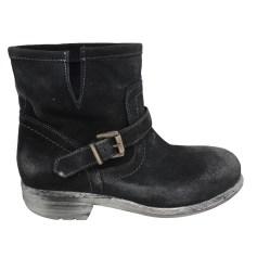 Bottines & low boots plates BAGATT Gris, anthracite