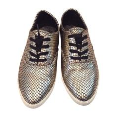 Sneakers MARC JACOBS Golden, bronze, copper