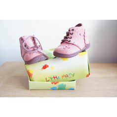 Ankle Boots LITTLE MARY Pink, fuchsia, light pink