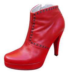 Bottines & low boots à talons FREE LANCE Rouge, bordeaux