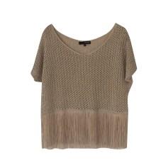 Top, tee-shirt LIU JO Beige, camel