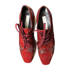 Sneakers STELLA MCCARTNEY Red, burgundy