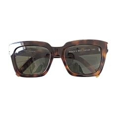 Sunglasses SAINT LAURENT Brown