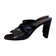 Heeled Sandals VERSACE Black