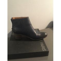Bottines & low boots à talons ANTHOLOGY PARIS Bleu, bleu marine, bleu turquoise
