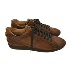 Lace Up Shoes FENDI Brown