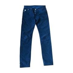 Slim Fit Pants KENZO Blue, navy, turquoise